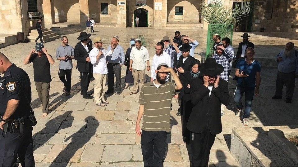 Extreme settler Yehuda Atzion leads groups of Jewish extremists in provocative incursions into Al-Aqsa Mosque/Al-Haram Al-Sharif