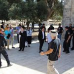 Groups of Jewish extremists are allowed to enter Al-Aqsa Mosque / Al-Haram Al-Sharif