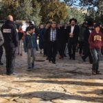 Jewish extremists' incursions into Al-Aqsa Mosque / Al-Haram Al-Sharif under the protection of Israeli police officers