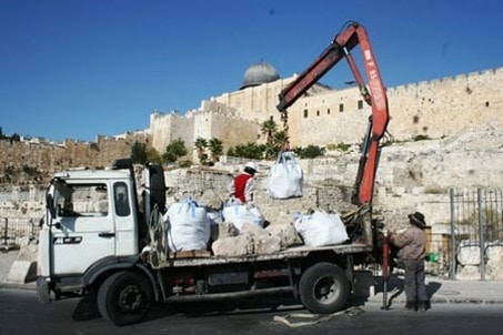 The Umayyad Palaces have faced the most severe Judaization, unearthing, digging and illicit trafficking of historic remains, 1967 till today