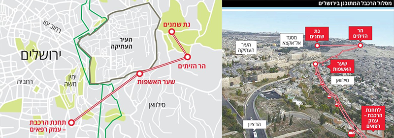 Cable Car future plans: Judaization of Jerusalem's skyline